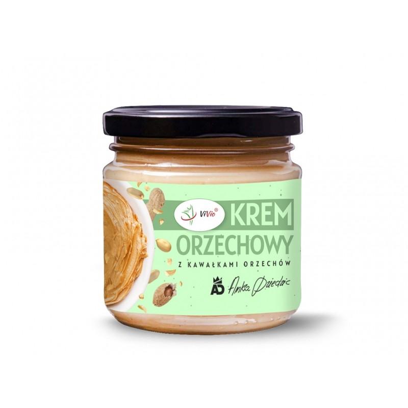 Krem orzechowy arachid. crunchy 200g VIVIO
