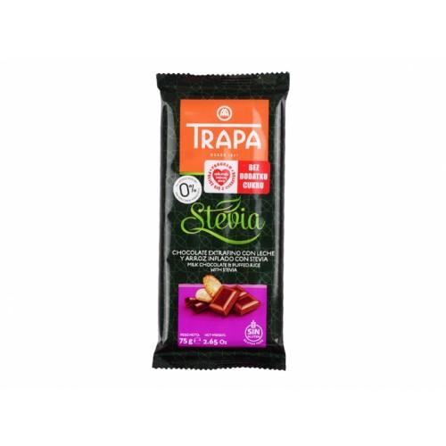 Czekolada mleczna crunchy- Trapa 75g