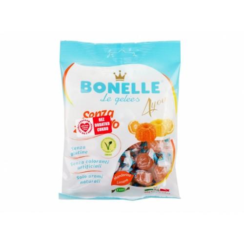 Żelki o smaku cytryny i mandarynki- Bonelle 90g
