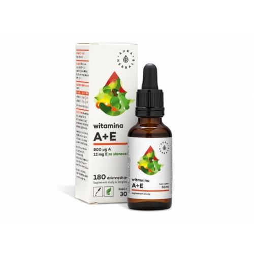 Witamina A+E krople 30ml Aura Herbals