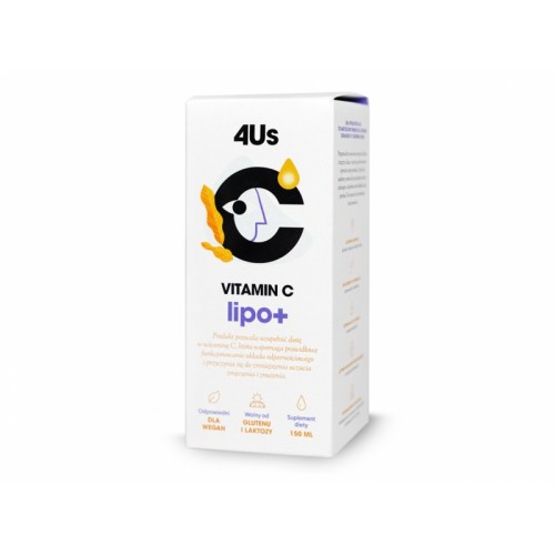 4Us Vitamin C lipo+ 150ml Healthlabs