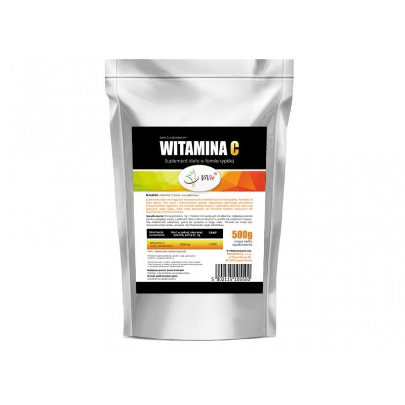 Witamina C(kwas L-askorbinowy)500g SUPLEMENT DIETY