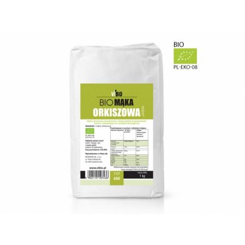 BIO Mąka orkiszowa 650 jasna