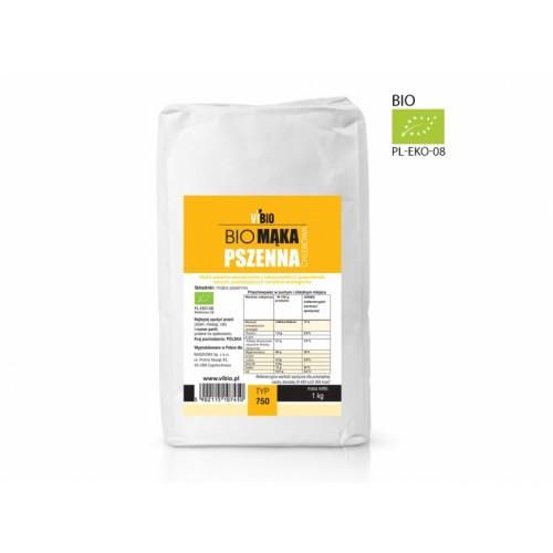 BIO Mąka pszenna 750 1000g