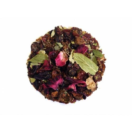 Herbata lipowo-malinowa 50g