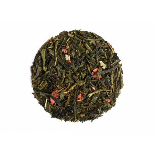 Herbata sencha ananas-truskawka 50g