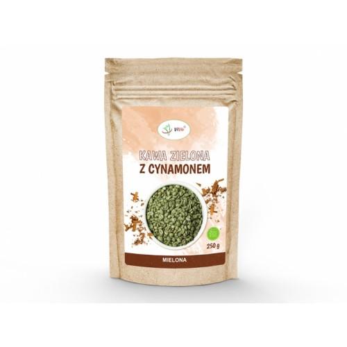 Kawa zielona mielona z cynamonem 250 g