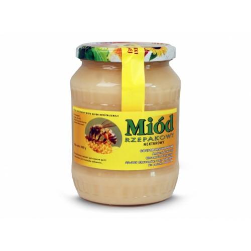 Miód rzepakowy 1000g