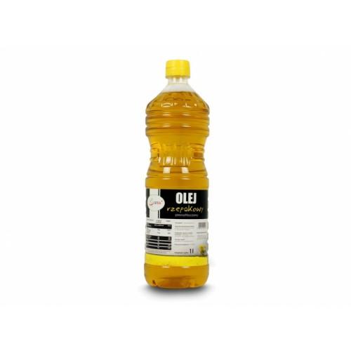 Olej rzepakowy zimnotłoczony 1Litr