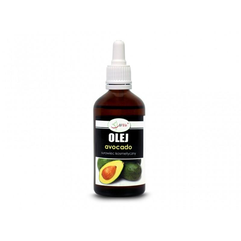 Olej avocado kosmetyczny 50ml (rafinowany)