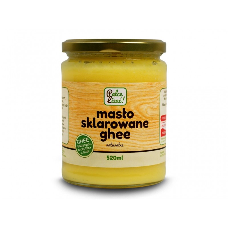 Masło ghee 520ml Palce Lizać