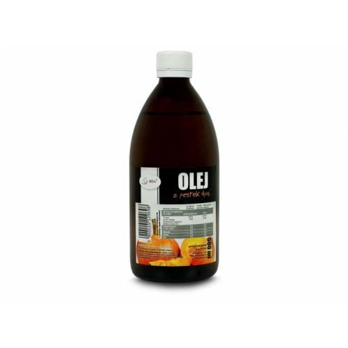 Olej z pestek dyni zimnotłoczony 500ml ViVio