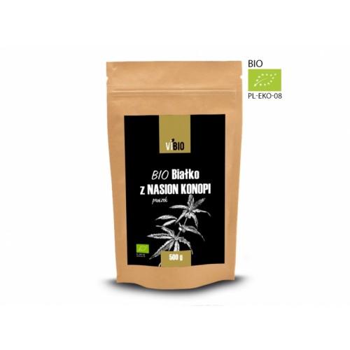 BIO białko z nasion konopi 500g