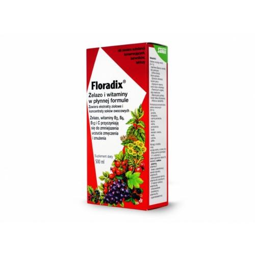 Żelazo i witaminy w płynnej formule 500ml Floradix
