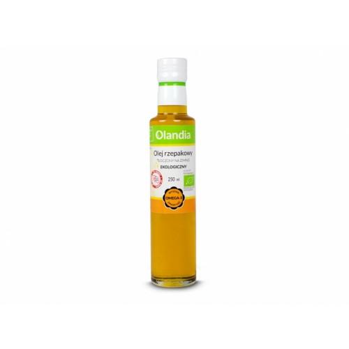 Olej rzepakowy BIO 250ml OLANDIA