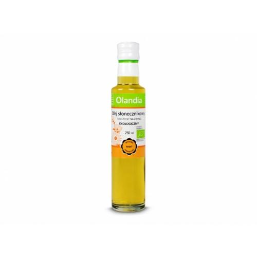 Olej słonecznikowy BIO 250ml OLANDIA