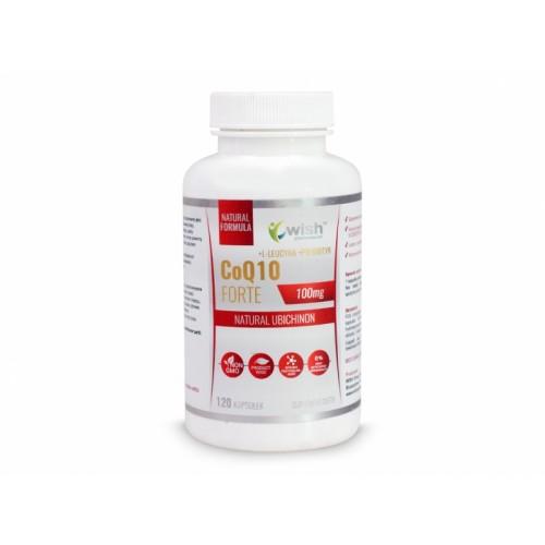 Coenzyme Q10 Forte 100mg - 120 kapsułek WISH