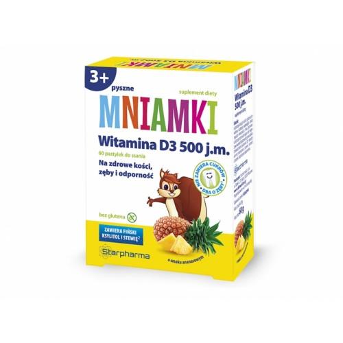 Mniamki witamina D3 ananas Starpharma