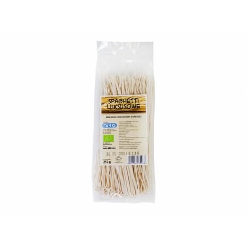 BIO Makaron orkiszowy spaghetti 250g NIRO