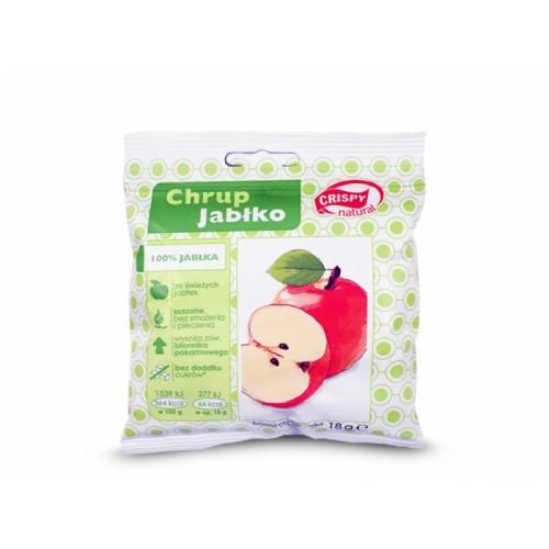 Jabłko naturalne plasterki 18g CRISPY
