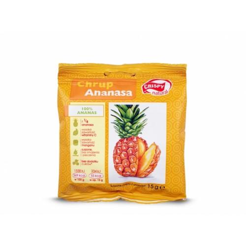 Ananas chips 15g CRISPY